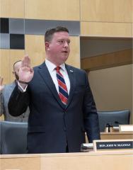 McGowan swearing in